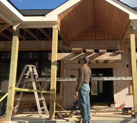 House Framing & Rough Carpentry Contractor: Clarkston | Post Construction - rough-carpentry